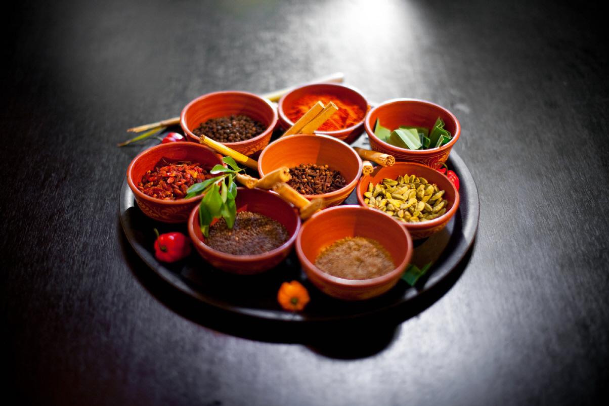 Gemischt Ayuervedic Zutaten-Mount Lavinia Restaurant