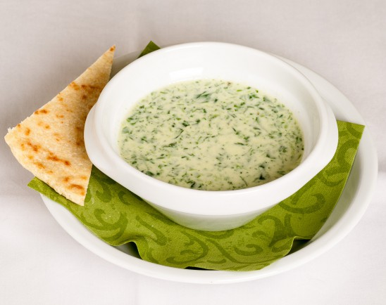 16. SPINACH SOUP